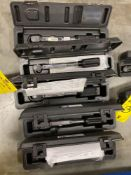 FIVE UNUSED TORQUE MEASUREMENT SYSTEMS IN CASES