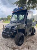 2012 POLARIS RANGER 500 4X4 UTV, GAS POWERED, DUMP BED, RUNS & DRIVES