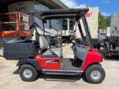 INGERSOLL RAND XRT810E ELECTRIC UTILITY CART W/ BED, RUNS & DRIVES