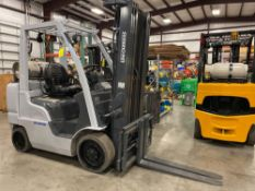 2014 UNICARRIERS LP FORKLIFT MODEL MCUG1F2F30LV, APPROX. 6,000 LB CAPACITY