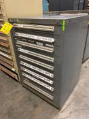 9 DRAWER STANLEY VIDMAR INDUSTRIAL PARTS CABINET/TOOL BOX