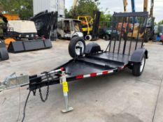 2013 TITAN EQUIPMENT TRAILER, 3,450 LB GVWR