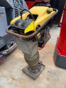 WACKER NEUSON BS60-4S GAS POWERED COMPACTOR, RUNS AND OPERATES