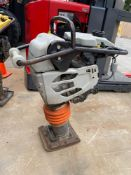MQ MULTIQUIP MIKASA MTX-80 COMPACTOR, 207 HOURS SHOWING, RUNS AND OPERATES