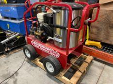 UNUSED MAGNUM 4000 GAS POWERED, DIESEL POWERED HEATER PRESSURE WASHER, ELECTRIC START, 4,000 PSI, WA