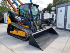 """2018 JCB 260T POWER BOOM TRACKED SKID STEER, 84"""" BUCKET ATTACHMENT INCLUDED, ENCLOSED CAB, HEAT & Ac"""
