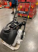UNUSED PLATE COMPACTOR, LF-88, GAS ENGINE, WATER SYSTEM