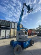 2012 GENIE Z-34/22N ARTICULATED 34' ELECTRIC BOOM LIFT, BUILT IN CHARGER, RUNS AND OPERATES
