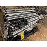 ASSORTED MANFROTO LIGHT STANDS