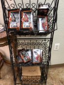 APPROXIMATELY 35 HARLEY DAVIDSON KNIFES, DISPLAY NOT INCLUDED