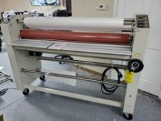 "60"" HEAT COLD DOUBLE OR SINGLE SIDED LAMINATOR"