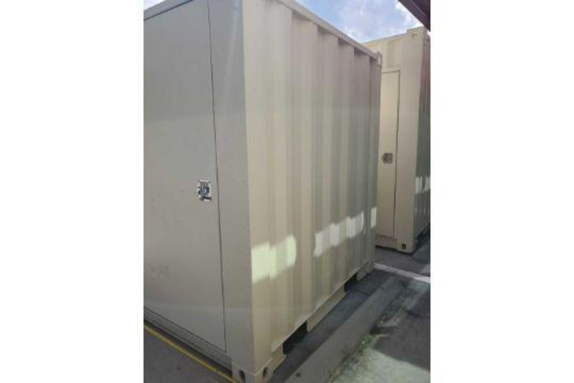 UNUSED 2020 SHIPPING/OFFICE CONTAINER WITH SIDE DOOR, FORK POCKETS, WINDOW - Image 2 of 7