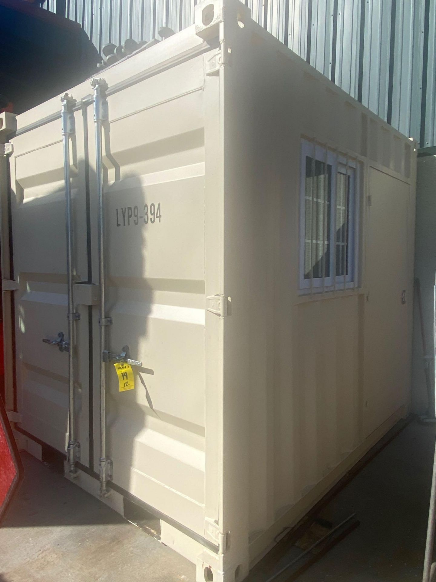 UNUSED 2020 SHIPPING/OFFICE CONTAINER WITH SIDE DOOR, FORK POCKETS, WINDOW - Image 2 of 5