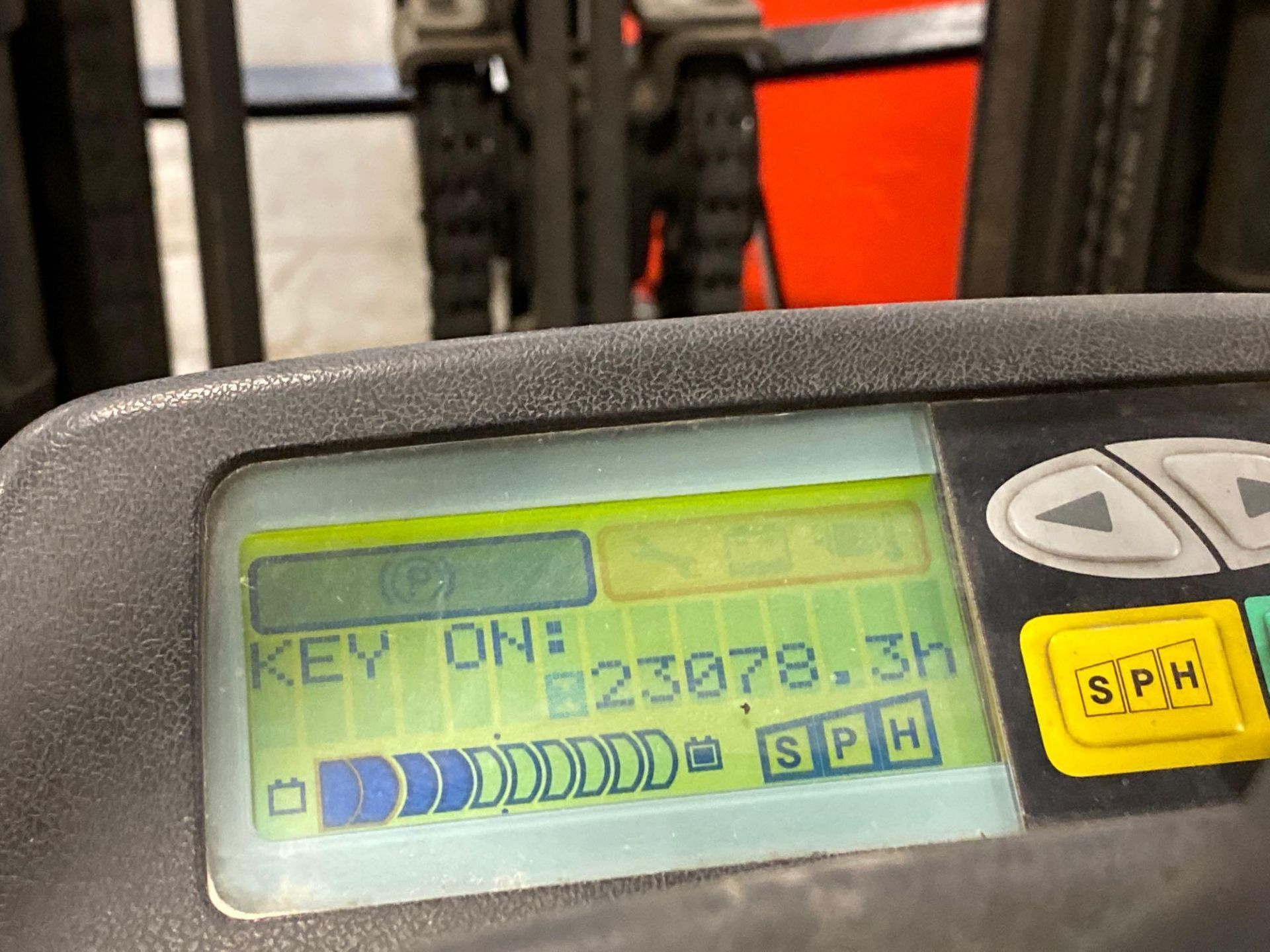 """TOYOTA 7FBCU25 ELECTRIC FORKLIFT, 5,000 LB CAPACITY, 170.5"""" HEIGHT CAPACITY - Image 18 of 20"""