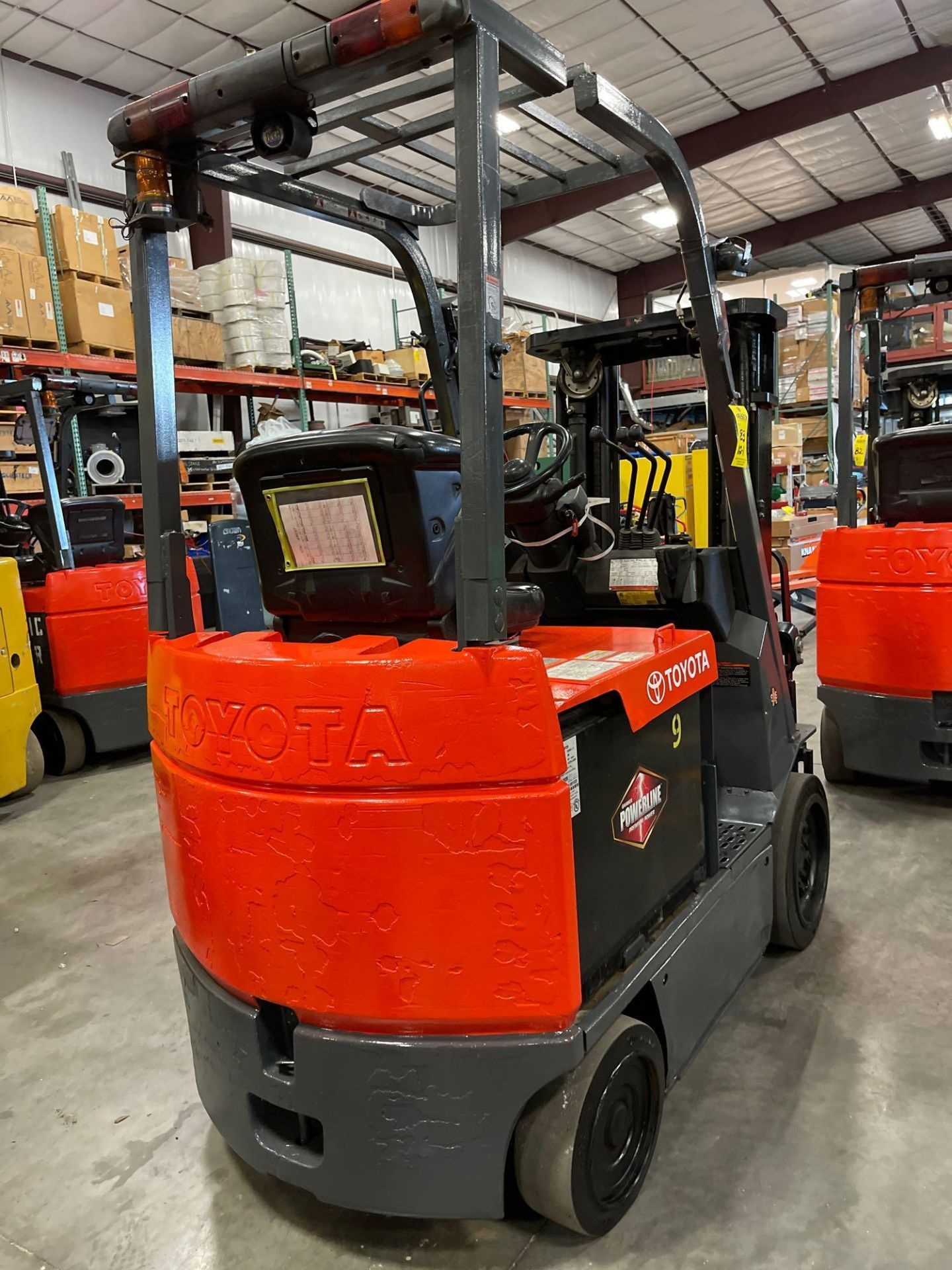 """TOYOTA 7FBCU25 ELECTRIC FORKLIFT, 5,000 LB CAPACITY, 170.5"""" HEIGHT CAPACITY - Image 8 of 20"""