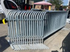 18 EQ CROWD CONTROL BARRIERS/DIVIDERS
