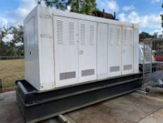 200KW/250KVA CATERPILLAR DIESEL GENERATOR, MODEL 3208, 594 HOURS SHOWING, RUNS & OPERATES