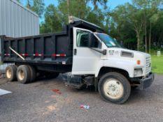 2003 GMC 8500 TANDEM AXLE DUMP TRUCK, NEW TIRES/WHEELS, DUMP BED