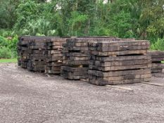 APPROXIMATELY 2,000 RAIL ROAD TIES, FREE LOAD OUT ON SITE, LOADING IS BY APPOINTMENT