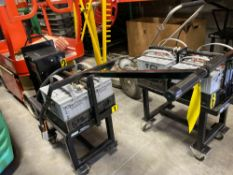 TCI MOBILITY BATTERY CART WITH 2 BATTERIES AND CHARGER