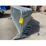 20 EQ CROWD CONTROL BARRIERS/DIVIDERS
