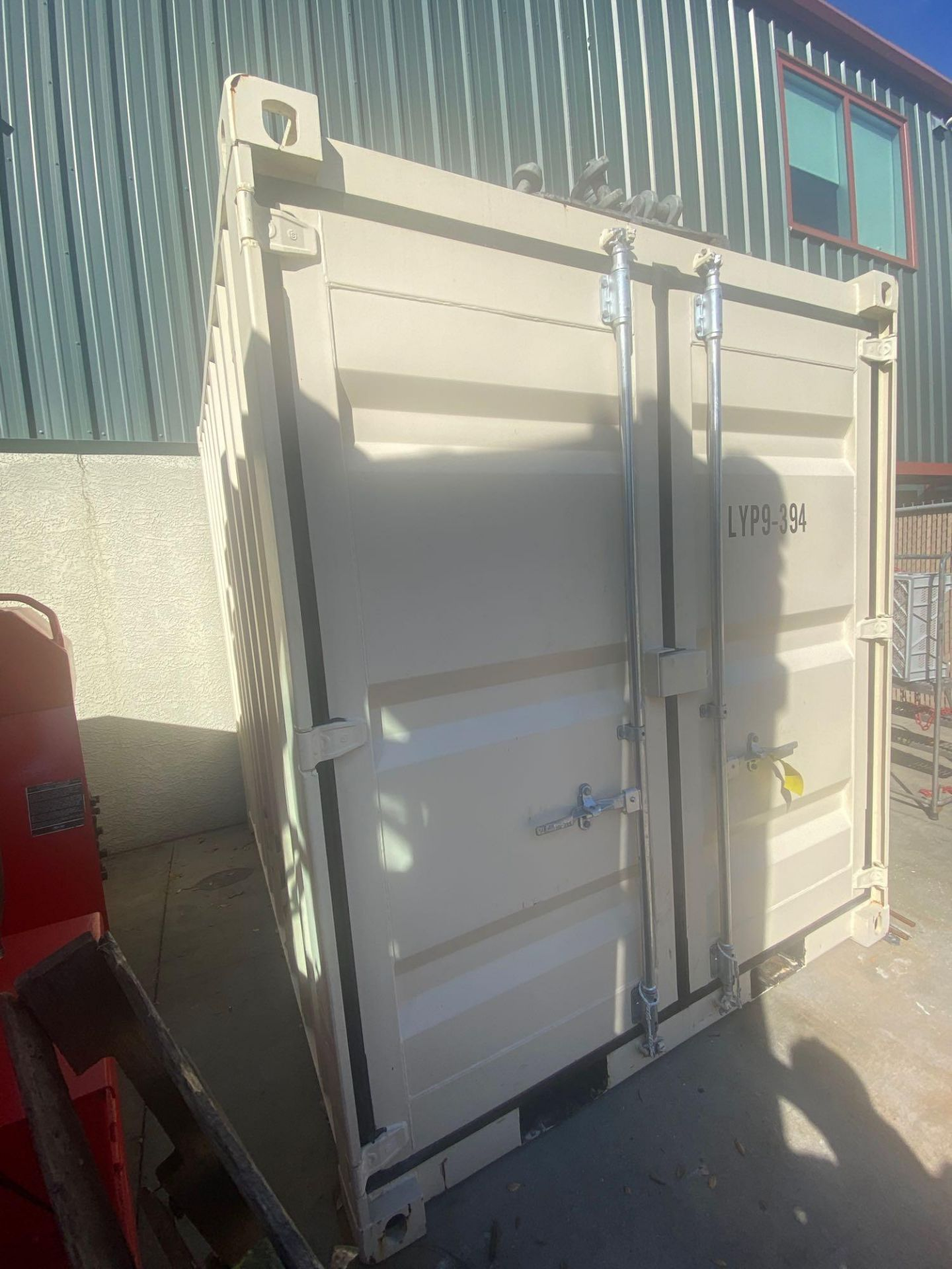 UNUSED 2020 SHIPPING/OFFICE CONTAINER WITH SIDE DOOR, FORK POCKETS, WINDOW - Image 4 of 5