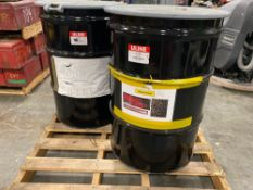 DRUMS FULL OF AIRCRAFT ALUMINUM SHIMS, FILLERS AND HARDWARE