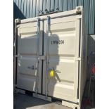 UNUSED 2020 SHIPPING/OFFICE CONTAINER WITH SIDE DOOR, FORK POCKETS, WINDOW
