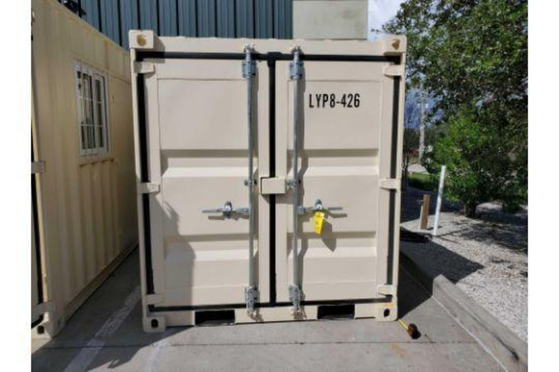 UNUSED 2020 SHIPPING/OFFICE CONTAINER WITH SIDE DOOR, FORK POCKETS, WINDOW - Image 3 of 7