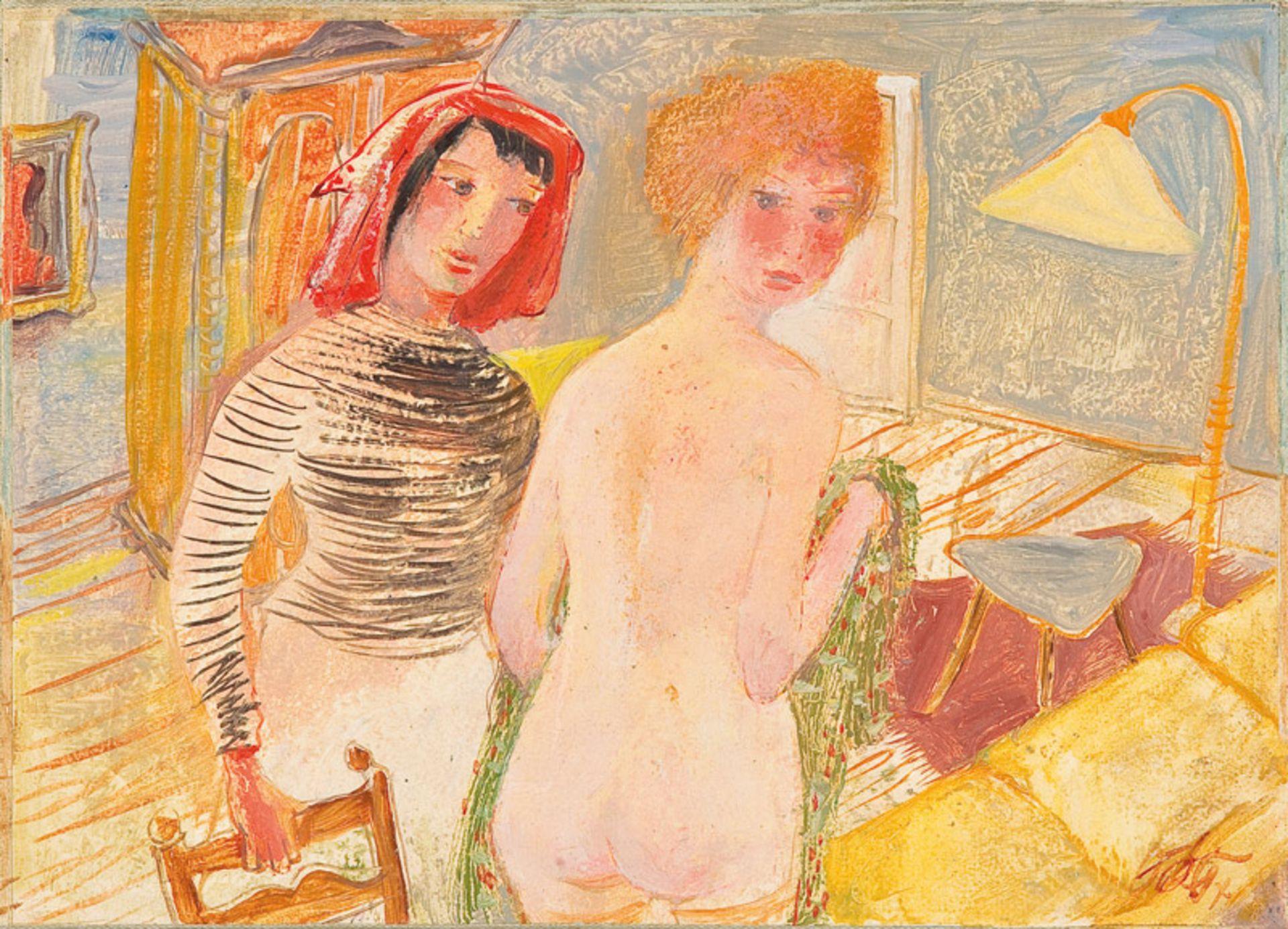 Otto Rudolf Schatz* Two women, c. 1950