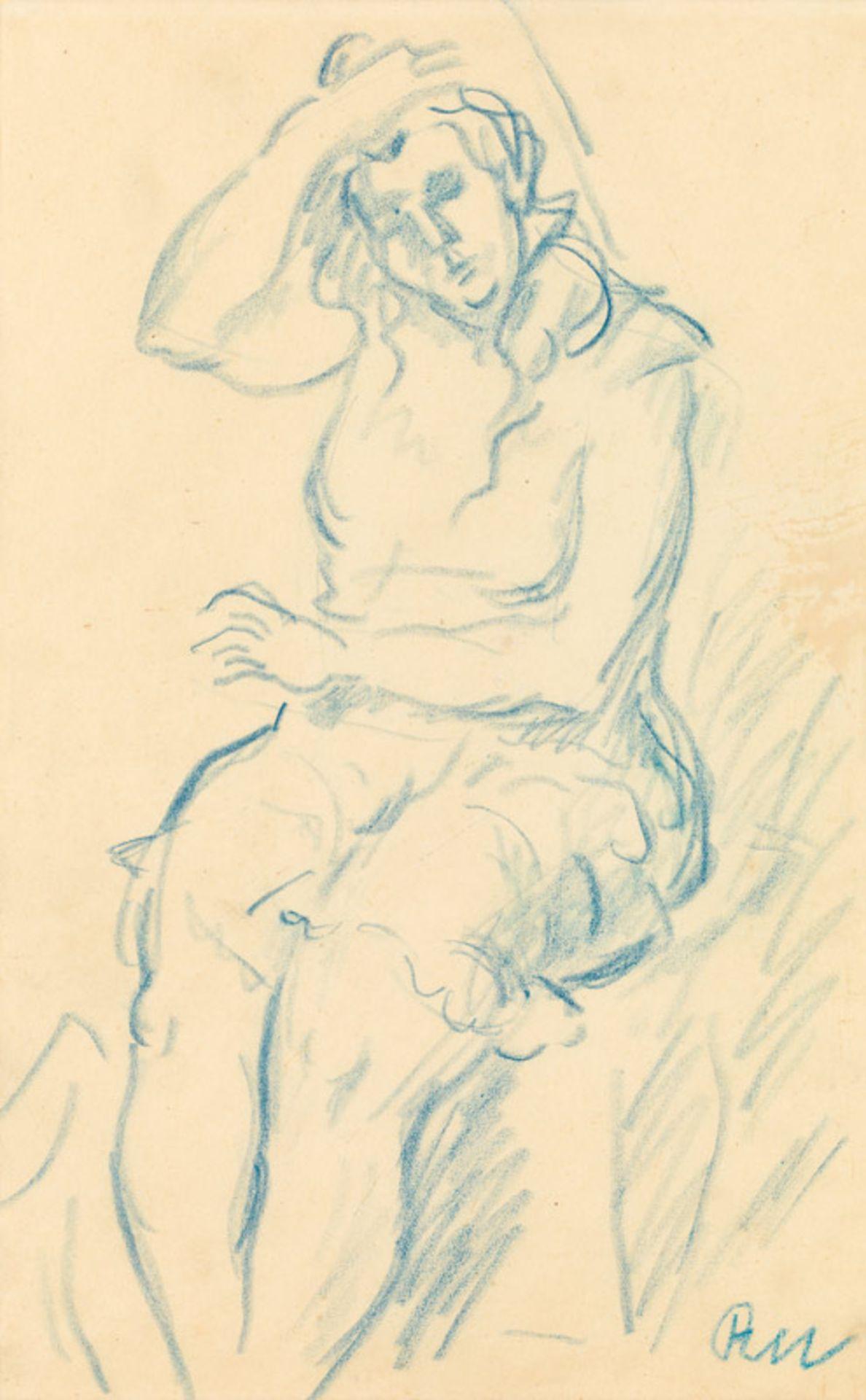 Rudolf Wacker Seated woman