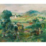 Ernst Huber* Summer landscape