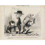 """Honoré Daumier """"La Paix universelle ...""""<br /"""