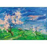 Viktor Lederer* Flowering trees, 2004