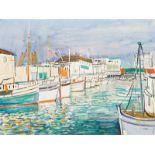 Ernst Huber* Monterey Harbor, California