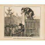 """Honoré Daumier """"Arrivée à Pekin ...""""l"""