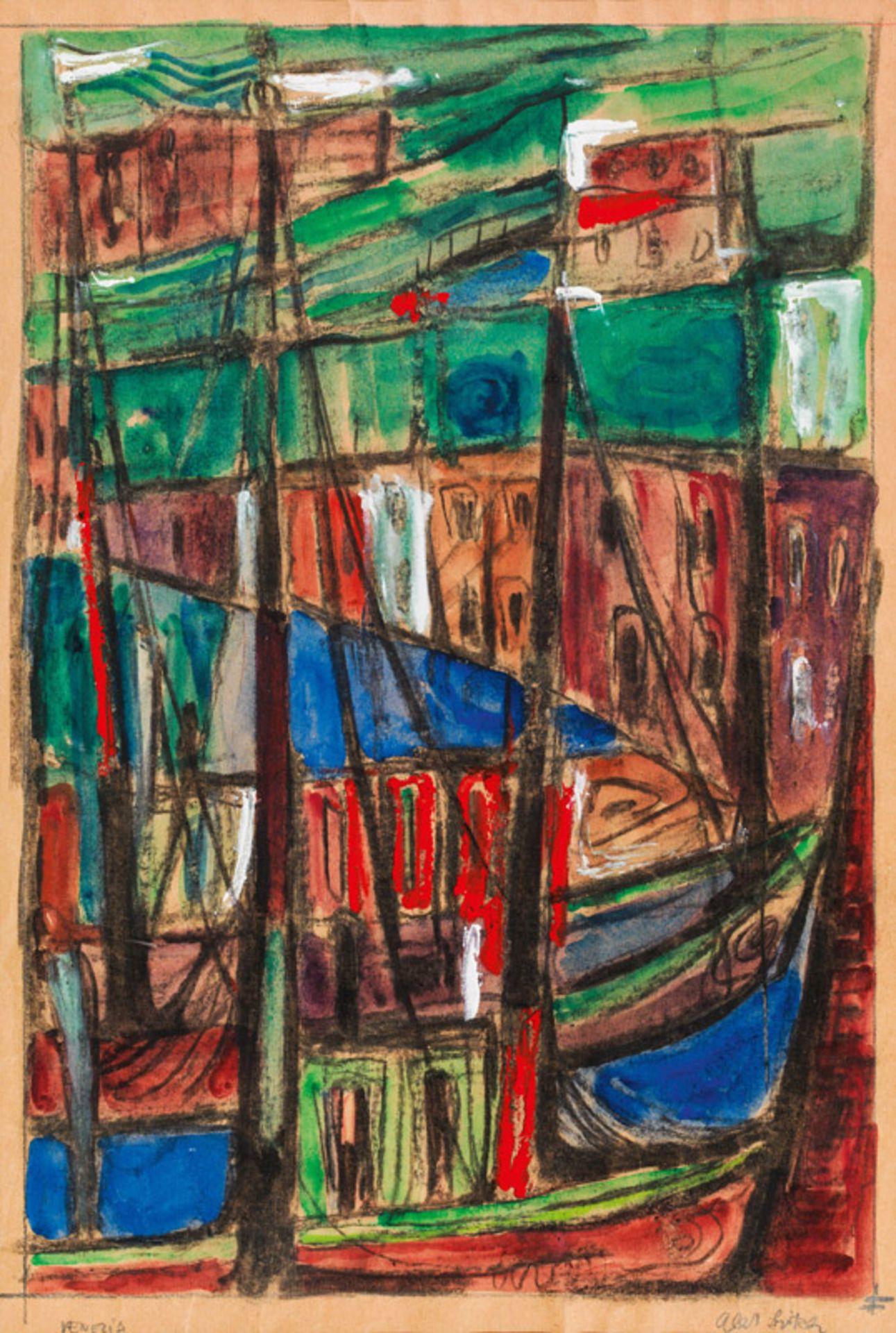 Albert Birkle* Venezia (harbour), 1955-1960