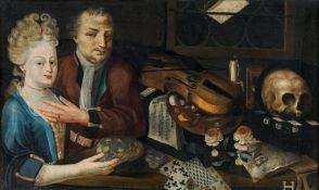 Künstler des 18. Jahrhunderts Vanitas still life