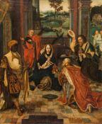 Antwerpener Meister The adoration of the Magi, c. 1520