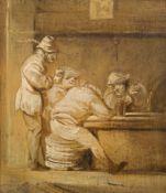 Follower of Adriaen Pietersz van de Venne Tavern scene