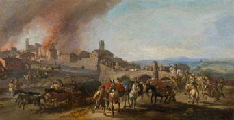 Circle of Pandolfo Reschi Town besiegement