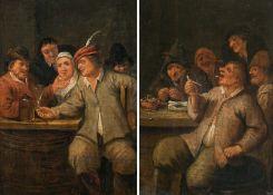 Mattheus van Helmont Tavern scenes (counterparts)