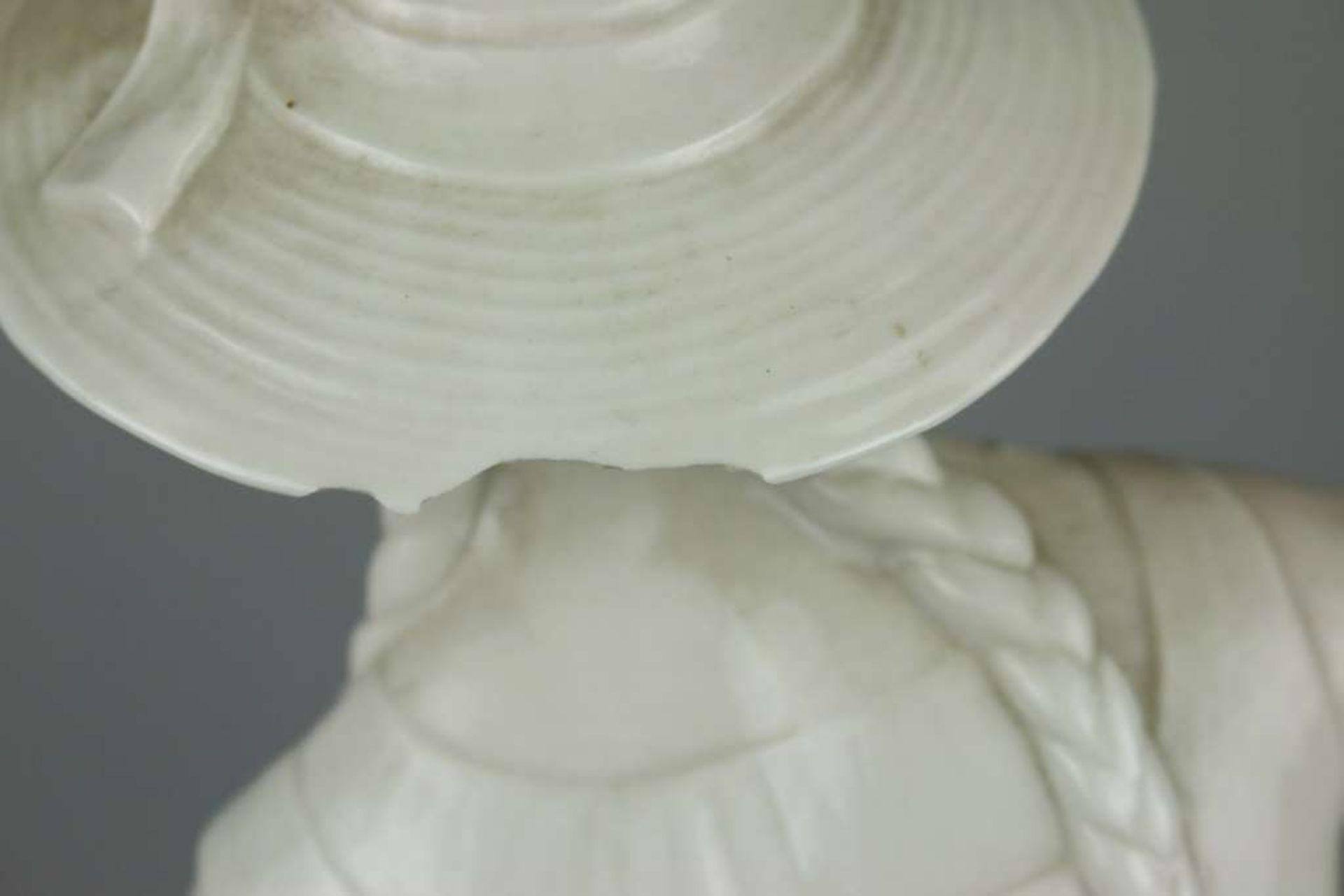 Schwarzburger Werkstätten, die Schnitterin, Magd mit dem Ährenbündel, Bodenmarke mit schnür - Bild 3 aus 6