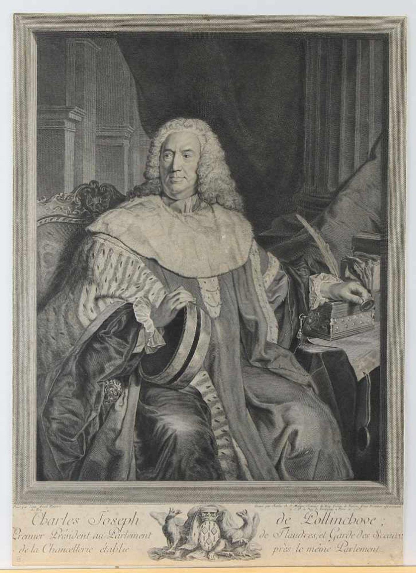 Bundle of our 18th Century Engraved Portraits - Bild 2 aus 4