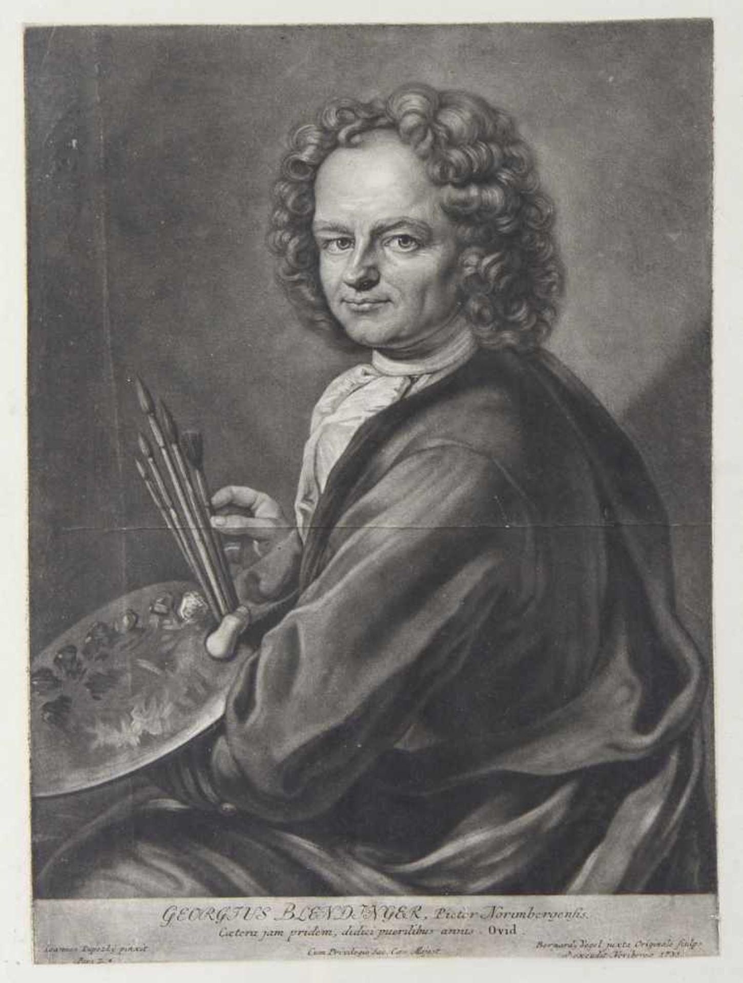 Bundle of our 18th Century Engraved Portraits - Bild 3 aus 4