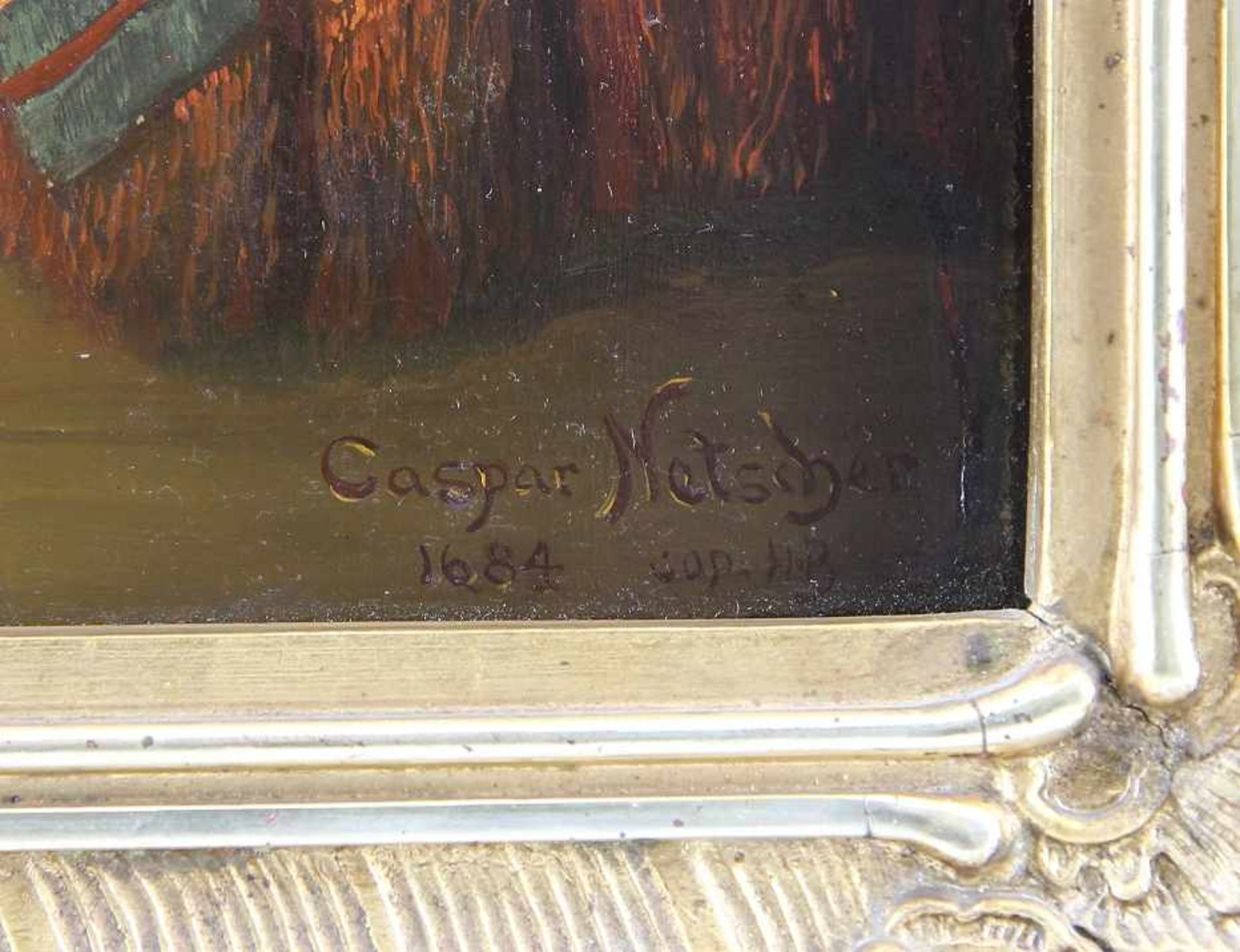 Netscher, Caspar (Heidelberg 1639 - 1684 Den Hague) after - Bild 3 aus 6