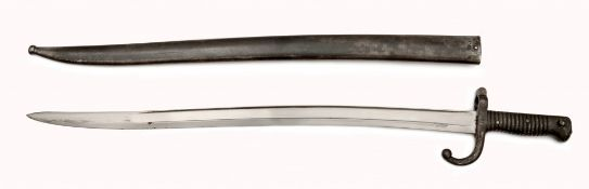 A Sword Bayonet for Chassepot Rifle Model 1866