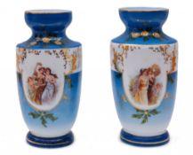 Paar Vasen / Pendants