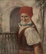 Bauernmädchen, Karl Röhling