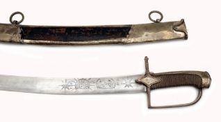Säbel M 1792 für Offiziere der Jäger zu Pferd